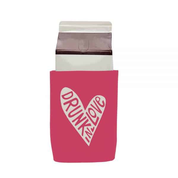 Drunk Love Stubby Holder Carton