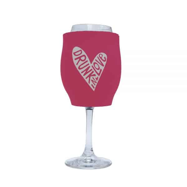 Drunk Love Stubby Holder Wine