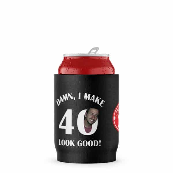 Make 40 Look Good Stubby Holder Beer Can
