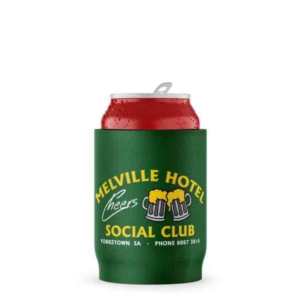Melville Hotel Stubby Holder Beer Can