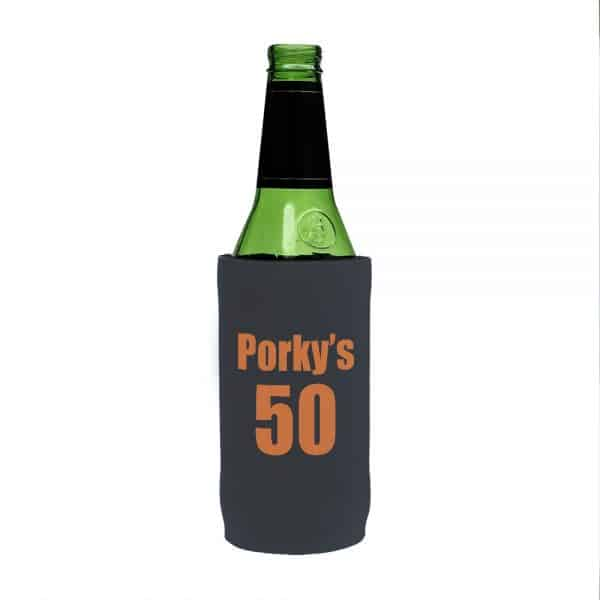 50th Birthday Stubby Holder Beer Tall