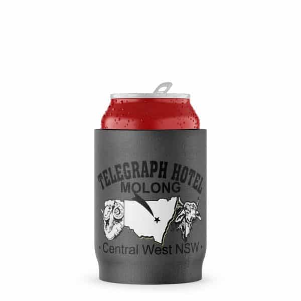 Telegraph Business Stubby Holder Beer Can