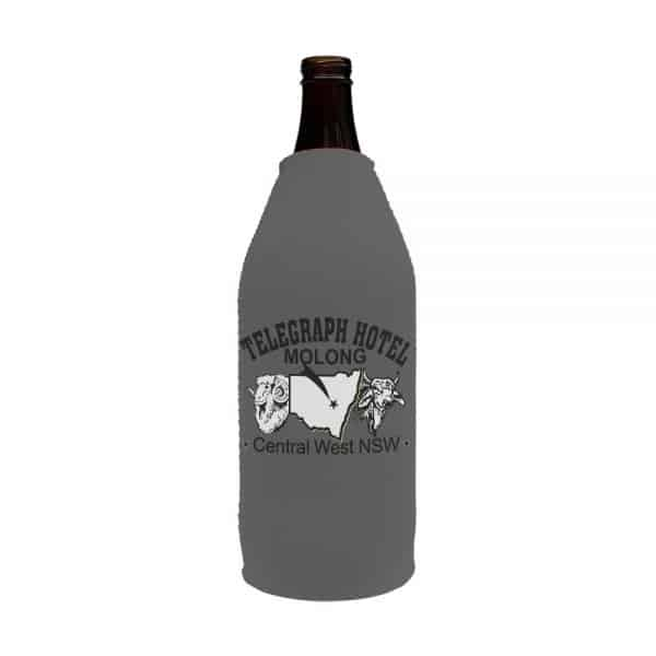 Telegraph Business Stubby Holder Beer Longneck