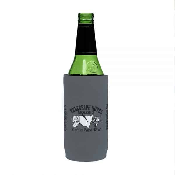 Telegraph Business Stubby Holder Beer Tall