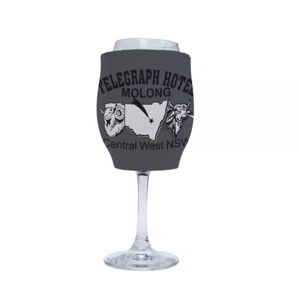 Telegraph Business Stubby Holder Wine
