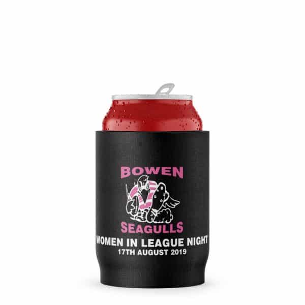 Womens Rugby Stubby Holder Beer Can