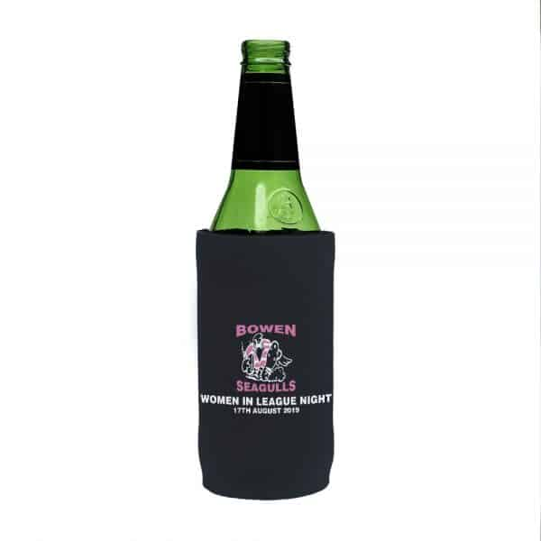 Womens Rugby Stubby Holder Beer Tall