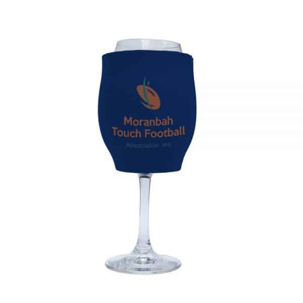 Touch Football Stubby Holder Wine