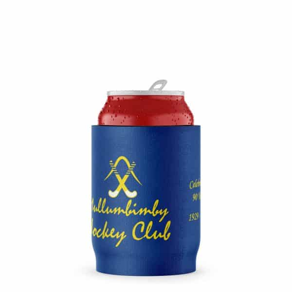 Hockey Club Blue Stubby Holder Beer Can