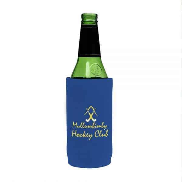 Hockey Club Blue Stubby Holder Beer Tall