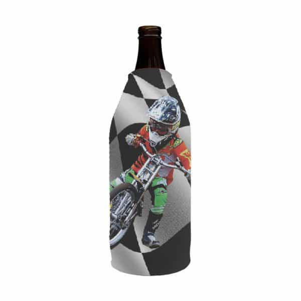 Bike Racing Stubby Holder Longneck