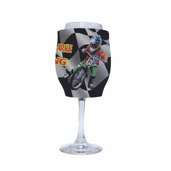 Bike Racing Stubby Holder Wine