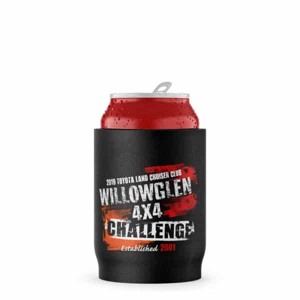 4X4 Challenge Stubby Holder Beer Can
