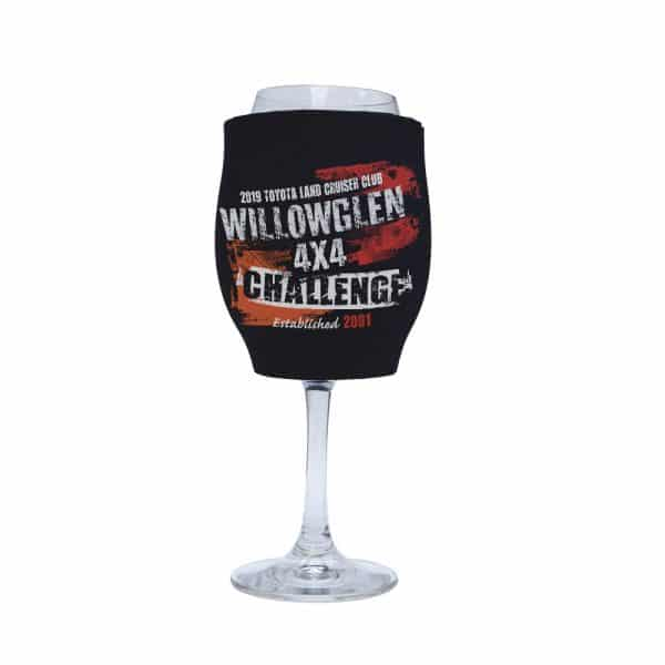 4X4 Challenge Stubby Holder Wine